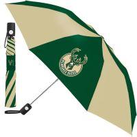Milwaukee Bucks Auto Folding Umbrella