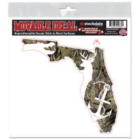 """FWC Officers Association / Mossy Oak All Surface Decals 12"""" x 12"""""""