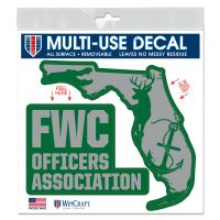 """FWC Officers Association All Surface Decal 6"""" x 6"""""""