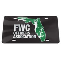 FWC Officers Association Specialty Acrylic License Plate
