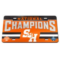 FCS DIV 1 FOOTBALL CHAMPION Specialty Acrylic License Plate