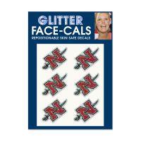 Nicholls State Colonels Glitter Tattoo 6 Pack