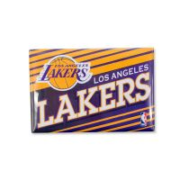 """Los Angeles Lakers Rectangle Magnet, 2pack 2"""" x 3"""""""