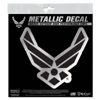 "U.S. Air Force Metallic Window Decals 6"" x 6"""