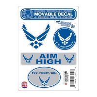 """U.S. Air Force All Surface Decals 5"""" x 7"""""""