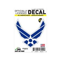 """U.S. Air Force All Surface Decals 3"""" x 5"""""""