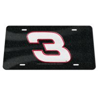 Richard Childress Racing GLITTER Specialty Acrylic License Plate