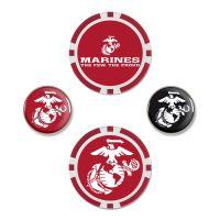 U.S. Marines Ball Marker Set of four